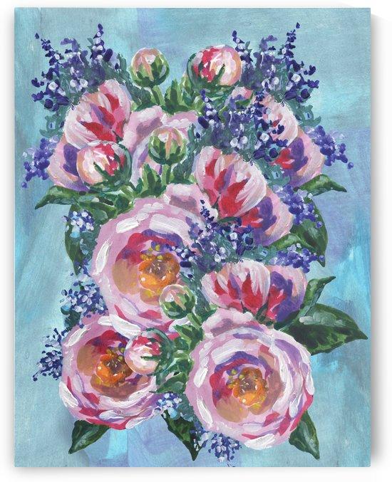 Beautiful Impressionistic Flowers by Irina Sztukowski
