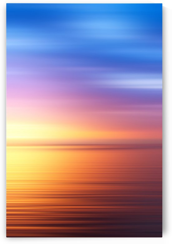 Abstract Sunset IV by Art Design Works