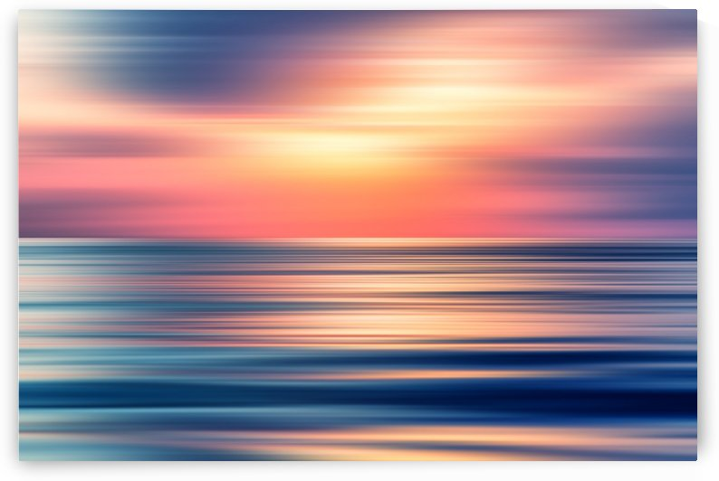 Abstract Sunset II by Art Design Works