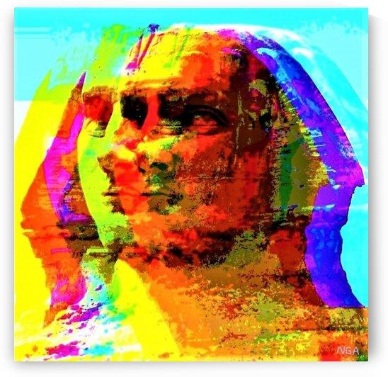 The Sacred Sphinx - by Neil Gairn Adams  by Neil Gairn Adams