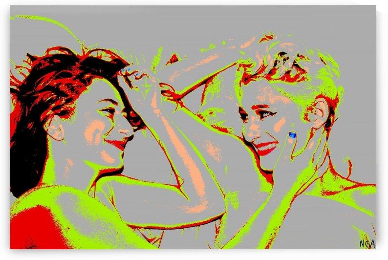 Girlfriends - by Neil Gairn Adams by Neil Gairn Adams