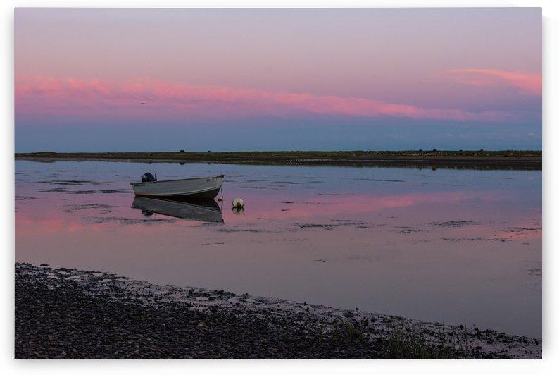 Une soire tranquille dans La Baie-des-Chaleurs by Adrien Cote