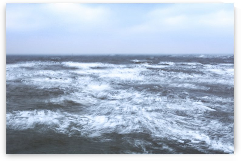 Sea in motion by Attila R  Kovacs