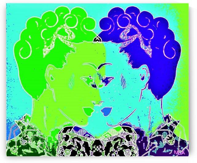 Face Time -  by Neil Gairn Adams by Neil Gairn Adams