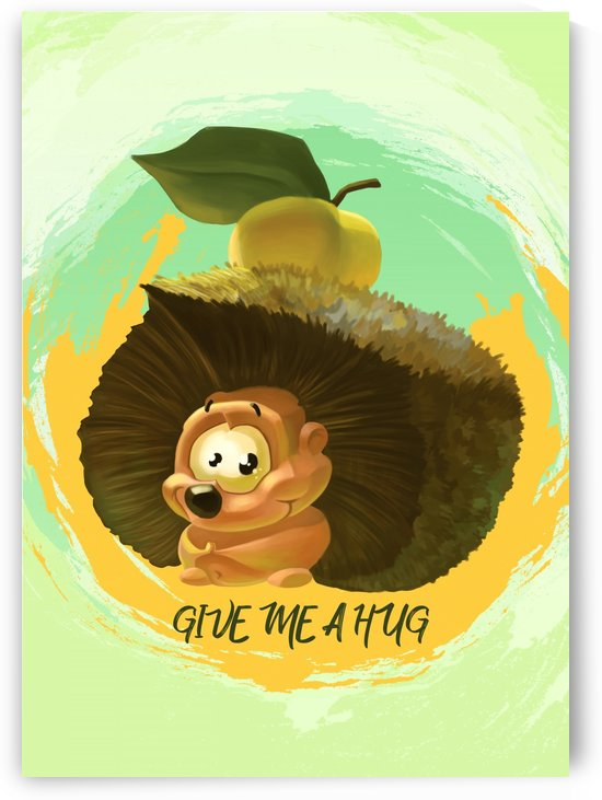 Cute Hedgehog by Adi Daniel Antone