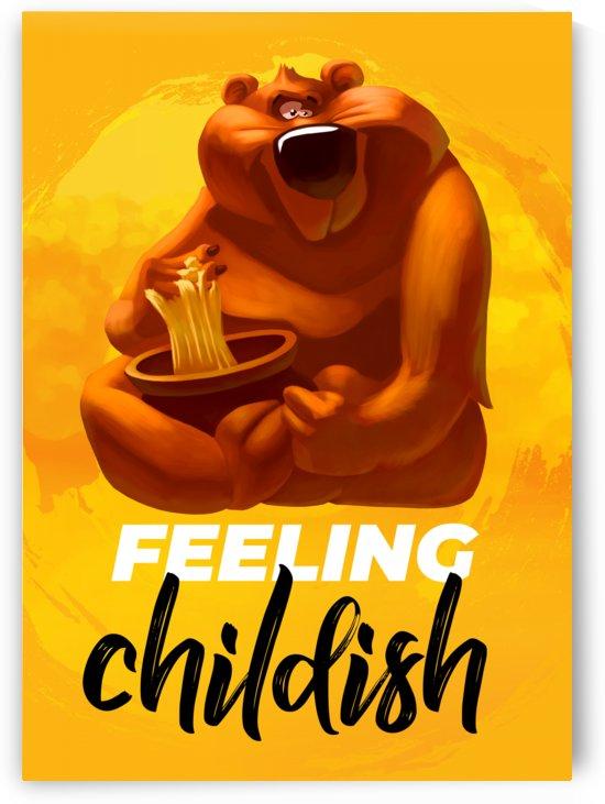 Feeling childish by Adi Daniel Antone