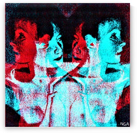 Ghostly -  by Neil Gairn Adams  by Neil Gairn Adams