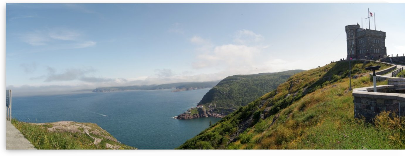 Signal Hill Panorama by Bob Corson
