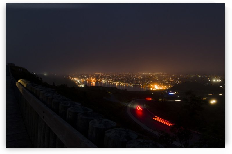 Night Scene from Signal Hill 7 by Bob Corson