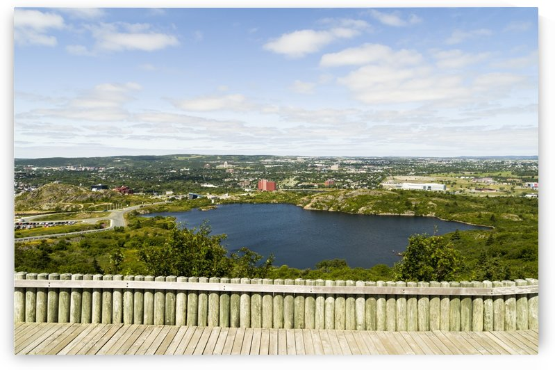 St. Johns Harbour and part of the city from Signal Hill 2 by Bob Corson