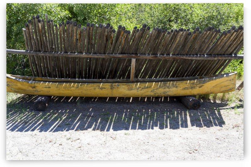 Dug Out canoe by Bob Corson