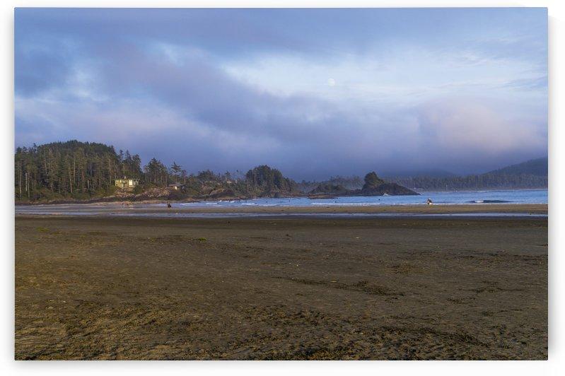 Evening on Chesterman Beach by Bob Corson