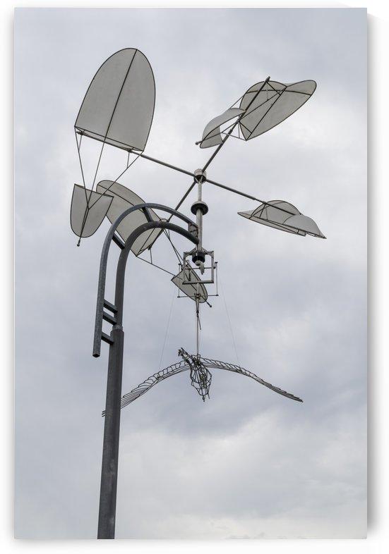 Heron Sculpture 2 by Bob Corson