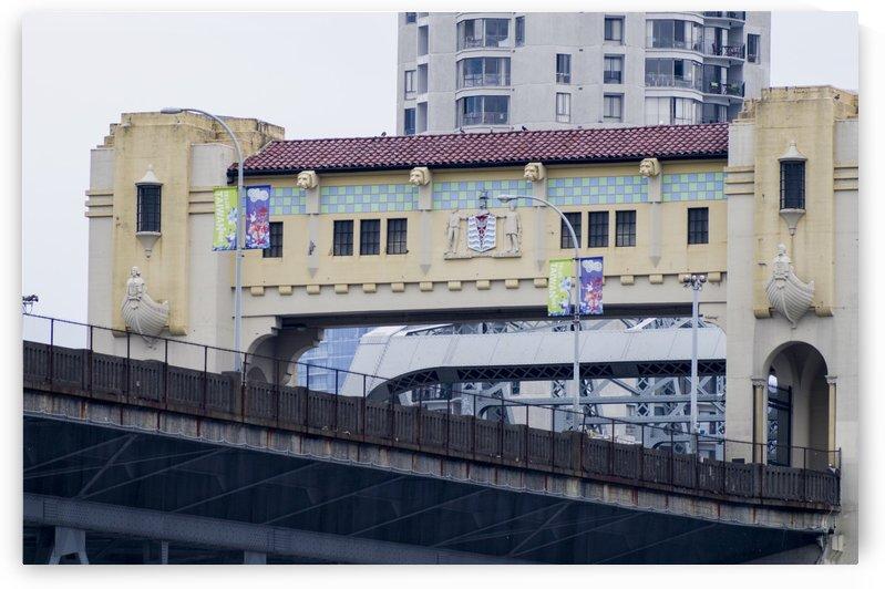 Bridge over false creek by Bob Corson