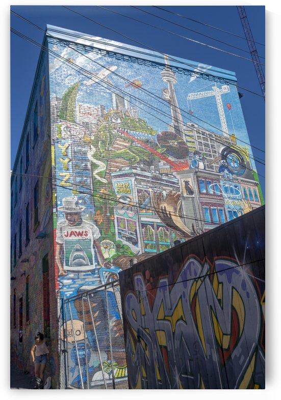 Torontos Graffiti Alley 51 by Bob Corson