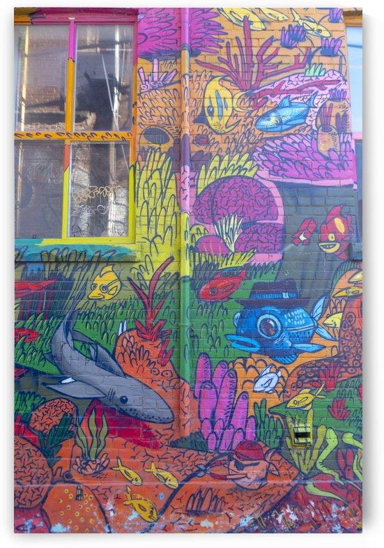Torontos Graffiti Alley  18 by Bob Corson