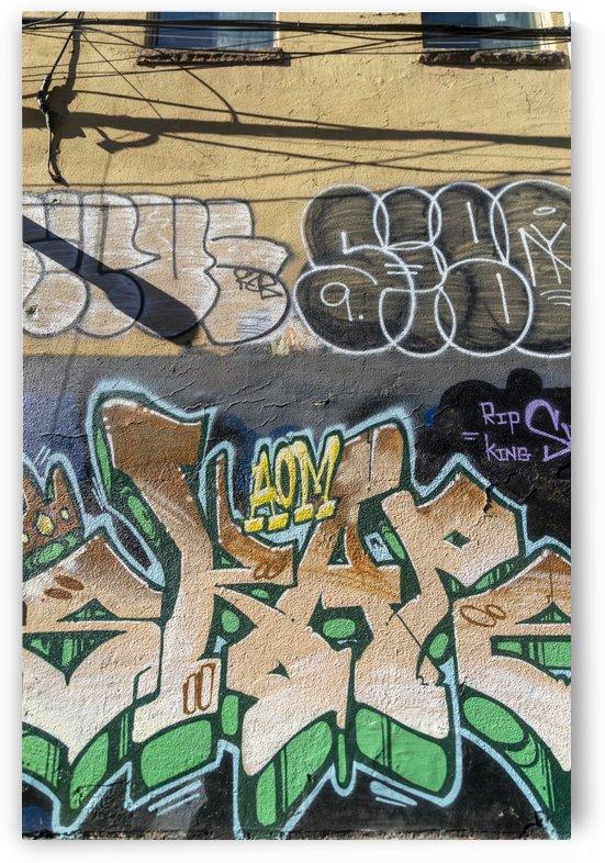 Torontos Graffiti Alley 8 by Bob Corson