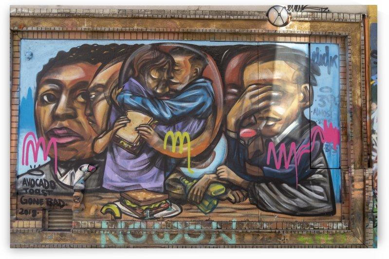 Torontos Graffiti Alley  9 by Bob Corson