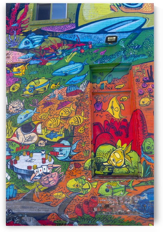 Torontos Graffiti Alley  14 by Bob Corson
