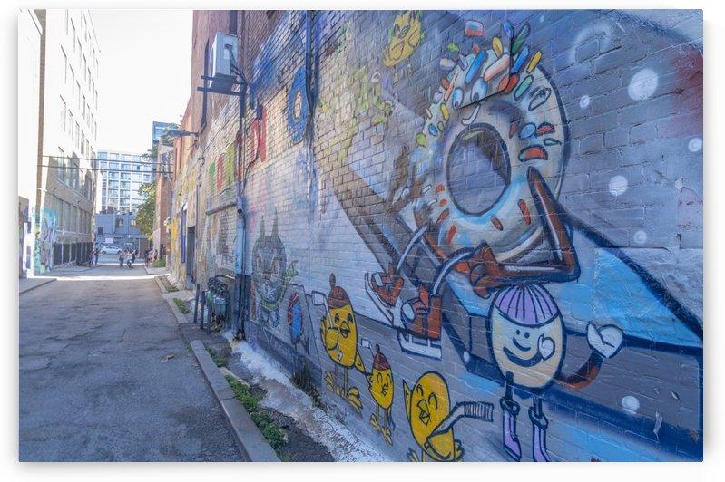 Torontos Graffiti Alley 50 by Bob Corson