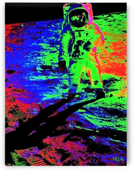 Man on the Moon 11  - by Neil Gairn Adams PIC by Neil Gairn Adams