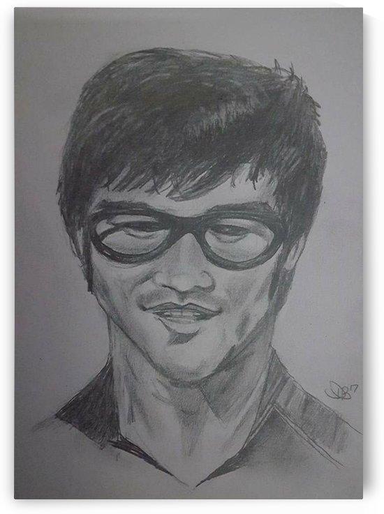 Lee Jun Fan  by David Bernstein