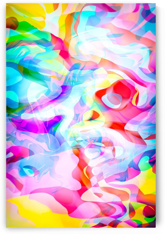 VIVID Abstraction I by Art Design Works