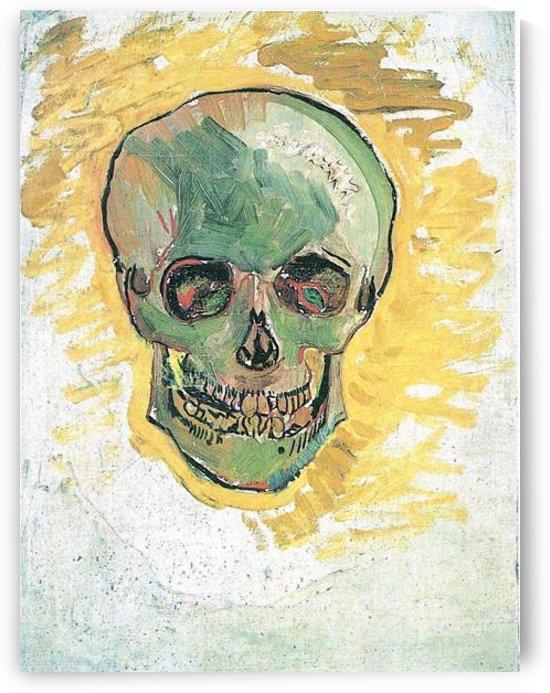 Skull by Van Gogh by Van Gogh