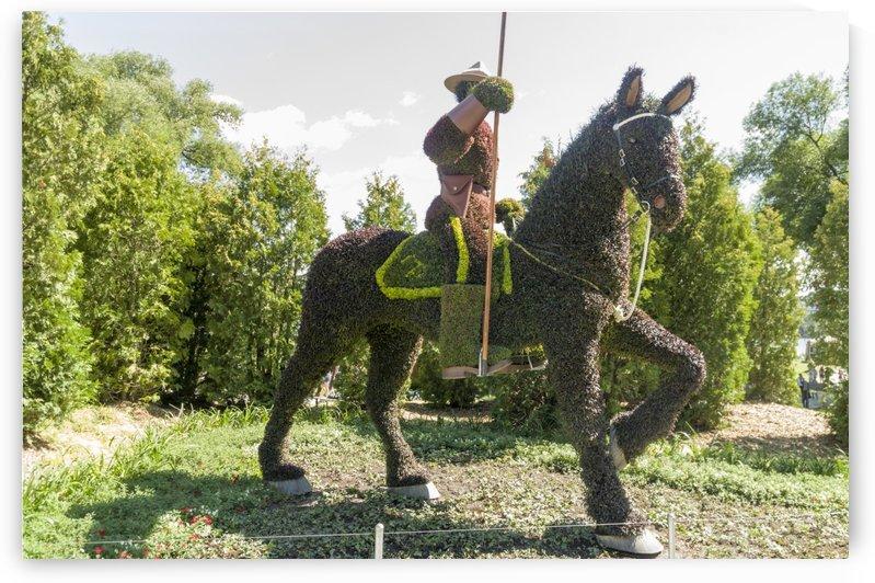 Saskatchewans entry is a Royal Canadian Mounted Policeman by Bob Corson