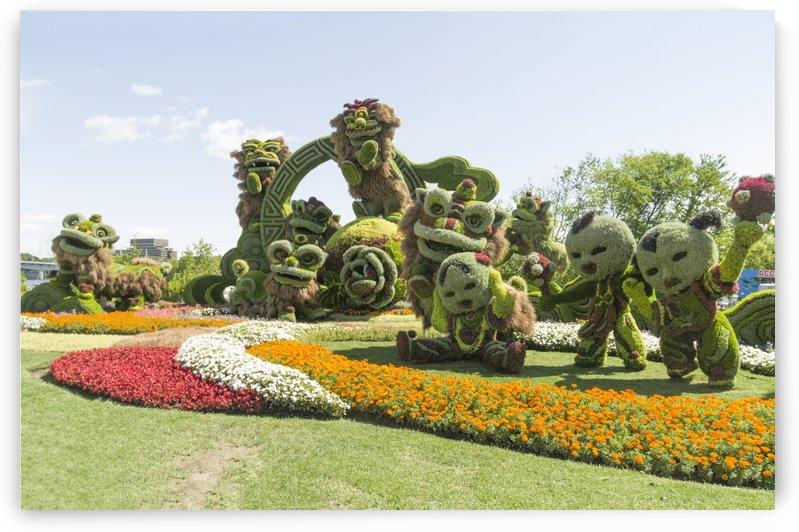 From Shanghai: Joyful Celebration of the Nine Lions 3 by Bob Corson