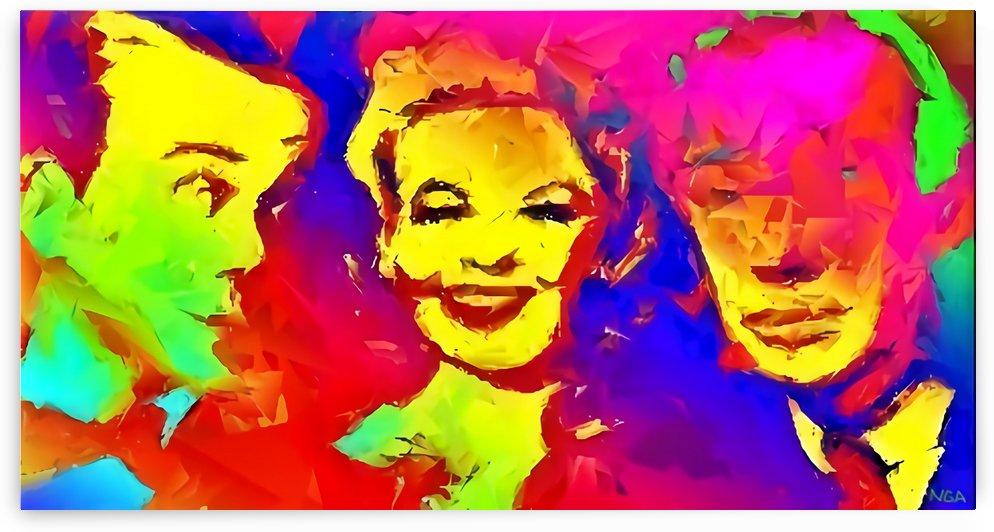 Three Faces - by Neil Gairn Adams by Neil Gairn Adams