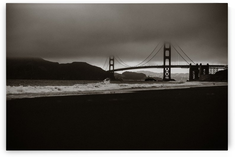 B&W Golden Gate by StephanieAllard