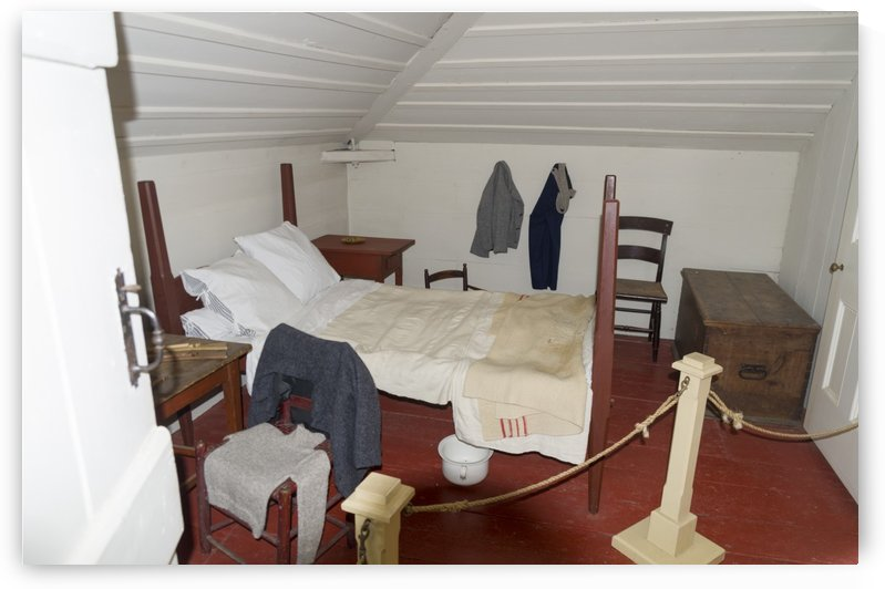 Bedroom in the Lightkeepers House 2 by Bob Corson
