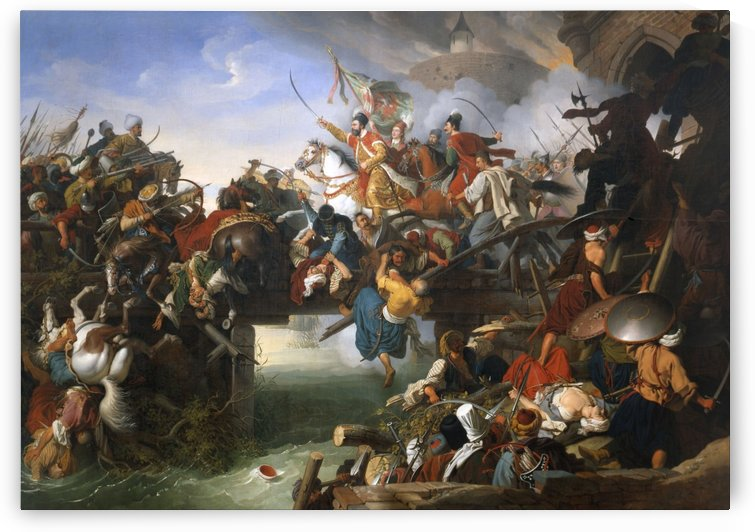 Charge from the Fortress by Johann Peter Krafft