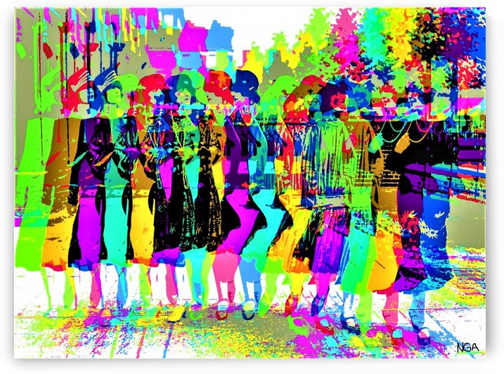 Party Girls -  by Neil Gairn Adams  by Neil Gairn Adams