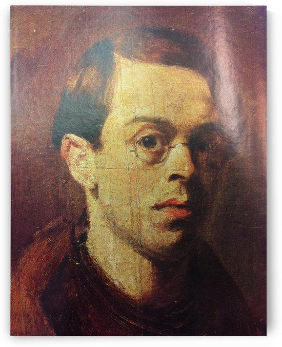 William Rothenstein self portrait aged 18 by William Rothenstein