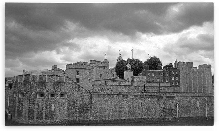 Grand Windsor Castle B&W by Gods Eye Candy