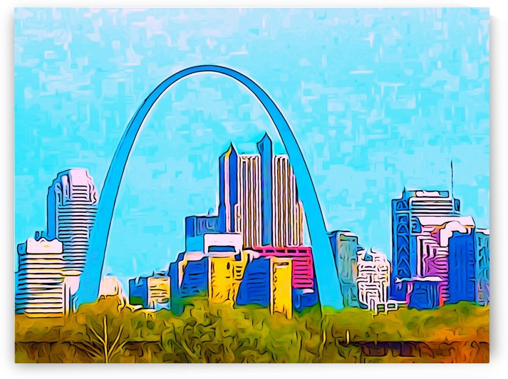 Saint Louis Arch by Impression Of Things