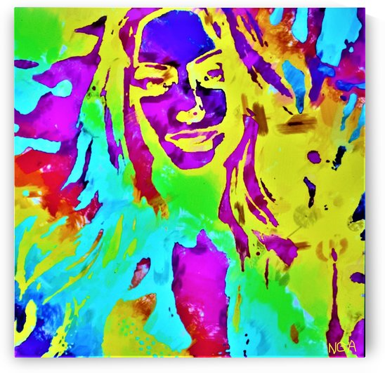 Abstract Girl - by Neil Gairn Adams by Neil Gairn Adams