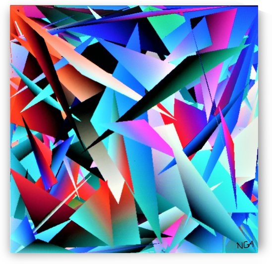 Assorted Shapes -  by Neil Gairn Adams by Neil Gairn Adams