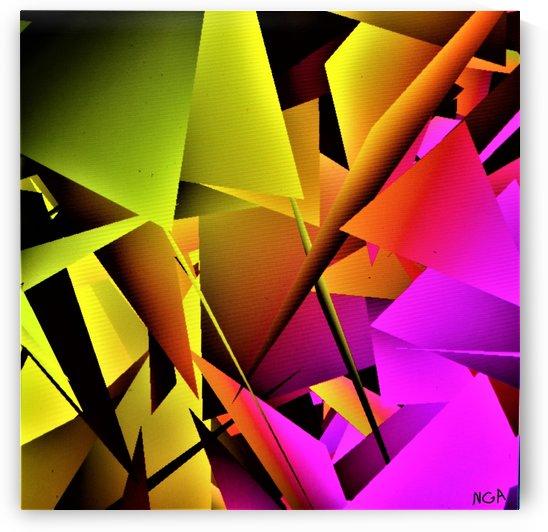 yellow and Pink - by Neil Gairn Adams by Neil Gairn Adams