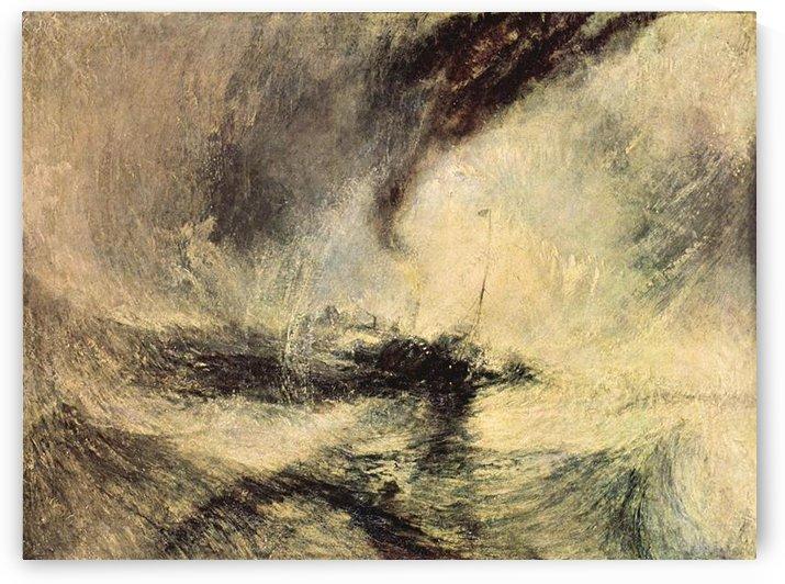 Steamboat signalling by Joseph Mallord Turner by Joseph Mallord Turner