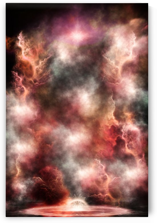 Anomalous Nebula Fractal Art by xzendor7