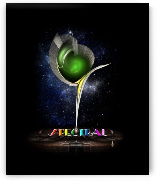Spectral Fractal Space Art by xzendor7
