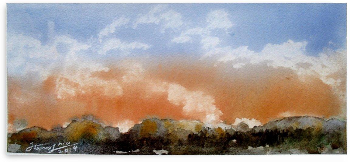 Sunset by JAMALEDDIN TOOMAJNIA