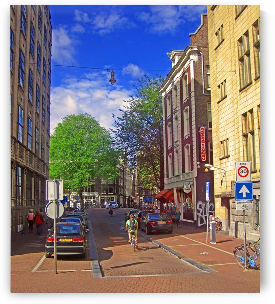 Streets of Amsterdam by Gods Eye Candy