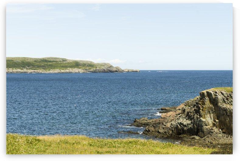 Elliston Newfoundland Coastline by Bob Corson