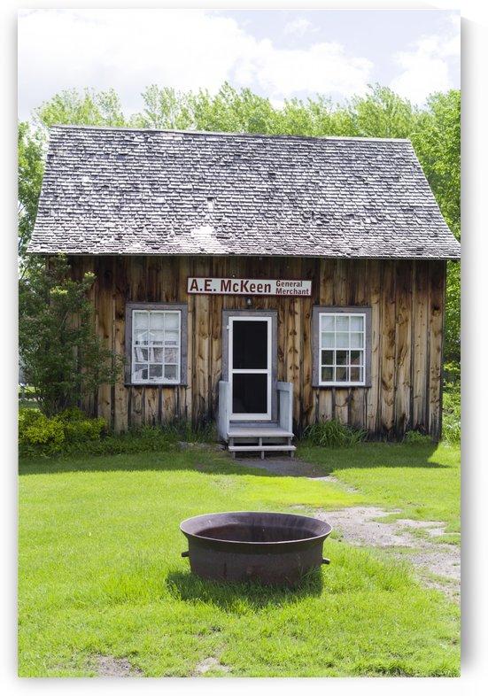 A.E. McKeen General Merchant Building 1 by Bob Corson