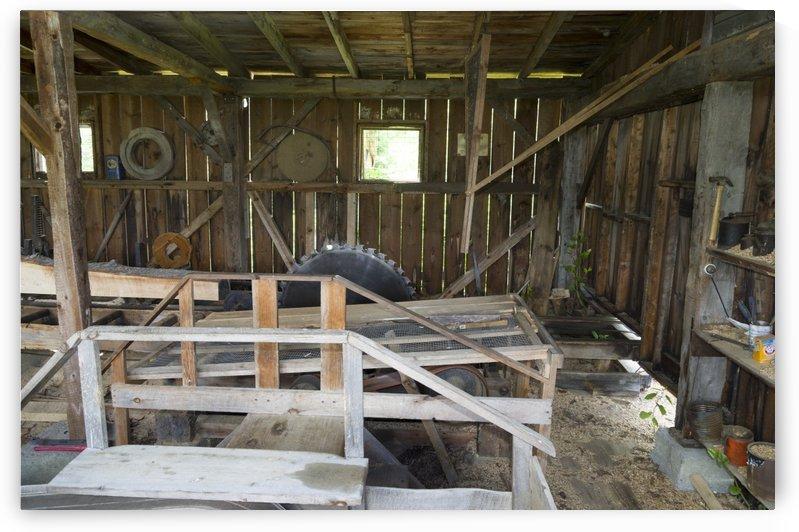 Replica Saw mill by Bob Corson