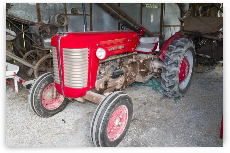 Massey-Harris 50 Tractor by Bob Corson